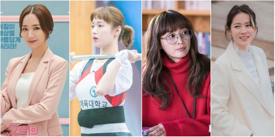 (L-R) Her Private Life, Weightlifting Fairy Kim Bok Joo, Romance Is A Bonus Book, Something In The