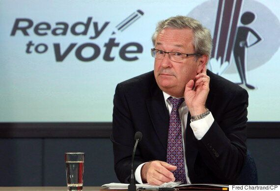Marc Mayrand: Ranked Ballot Referendum On Electoral Reform Options Likely Too