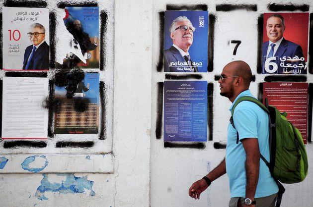 Au total, 26 candidats sont en lice pour l'élection présidentielle en Tunisie, qui n'a...