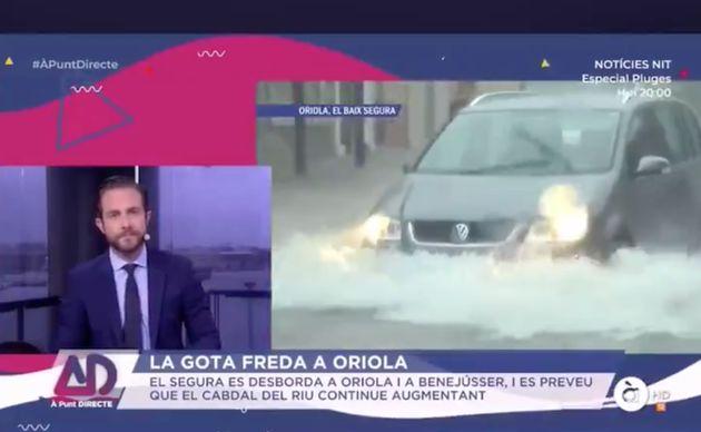 Entrevista al alcalde de Orihuela (Alicante) en À