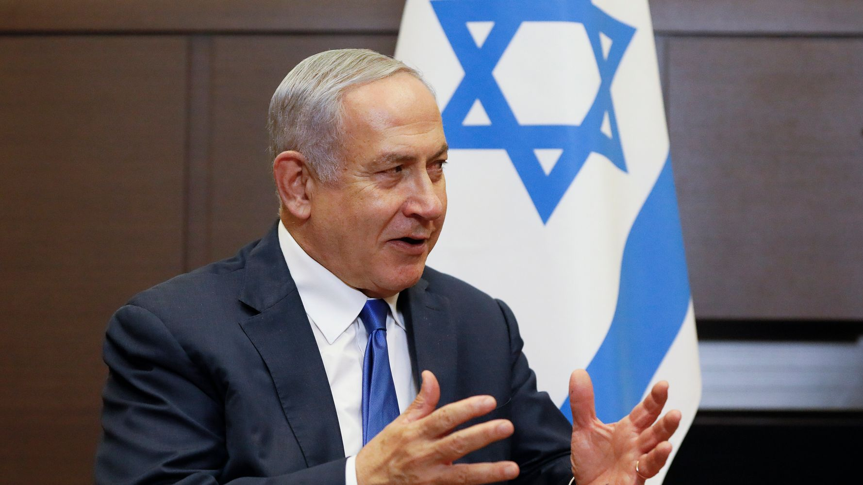 Westlake Legal Group 5d7dfd5a3b0000039fd3ccc3 Ahead Of Do-Over Election, Embattled Netanyahu In Fight Of His Political Life
