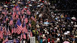 Hong Kong Protesters Defy Police Ban To March Through