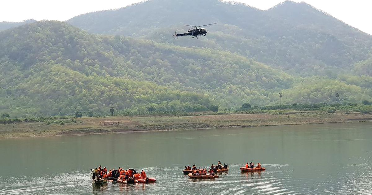 50 People Missing After Tourist Boat Accident In Andhra's Godavari River