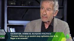 El 'dardo' de José Sacristán a estos dos políticos en 'LaSexta Noche': no son quienes