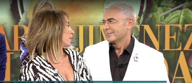 María Patiño y Jorge Javier Vázquez en 'Sábado