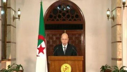 Discours de Abdelkader Bensalah à