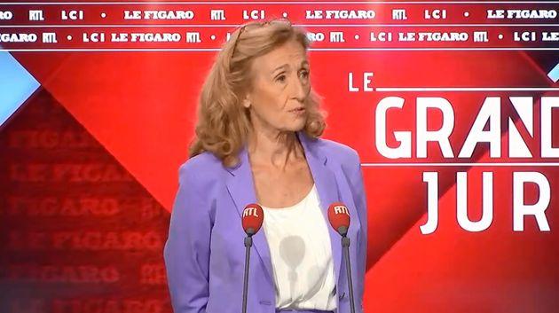 Nicole Belloubet sur le plateau de RTL ce dimanche 15