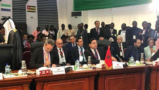 """CEDEAO: Nasser Bourita appelle à """"créer de la richesse, pour appauvrir le"""