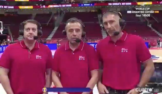 José Antonio Luque, narrador de Cuatro en el Mundial de Baloncesto de