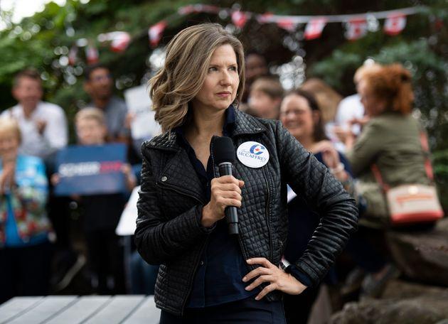 Justina McCaffrey, candidate pour le Parti conservateur dans