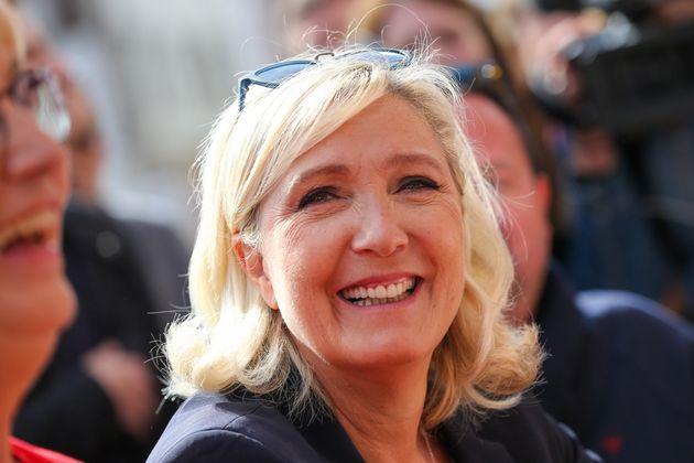 Marine Le Pen à Hénin Beaumont le 8 septembre