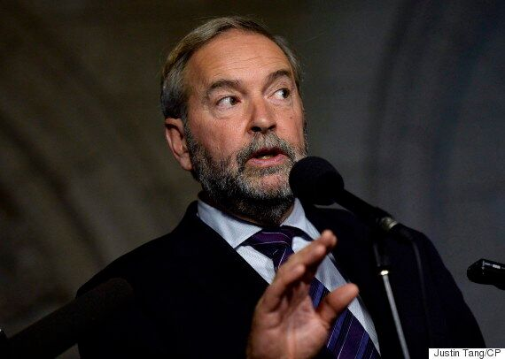 Thomas Mulcair Lobbies To Bring Back Per-Vote Subsidy To Clean Up