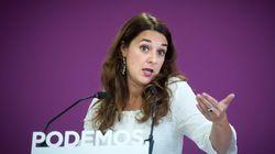 Noelia Vera, diputada de Podemos, anuncia que está