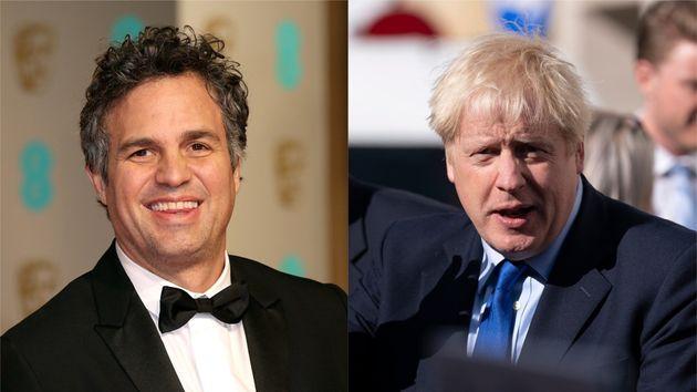 Mark Ruffalo Takes Down Boris Johnson's Incredible Hulk Brexit Metaphor