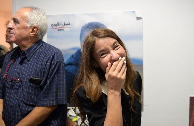 Élection présidentielle: Les premiers mots de Salwa Smaoui, épouse de Nabil Karoui après le résultat...