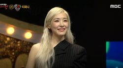 오랜만에 방송 출연한 티파니가 '소녀시대'를