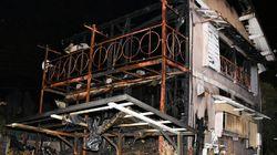 千葉市で民家全焼、避難時に男性がけが 停電復旧後の通電火災か