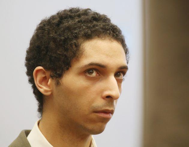 지난 3월 22일 법원에 출두한 타일러