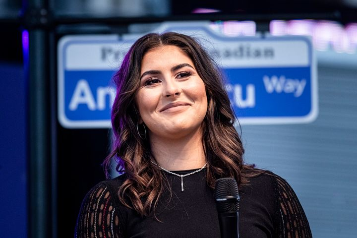 Bianca Andreescu will have a street named after her in her Mississauga Ont. hometown.