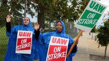 オート労働者の発売大手のストライキ55GM施設