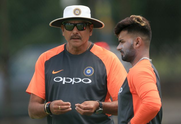 File image of Ravi Shastri and Rishabh