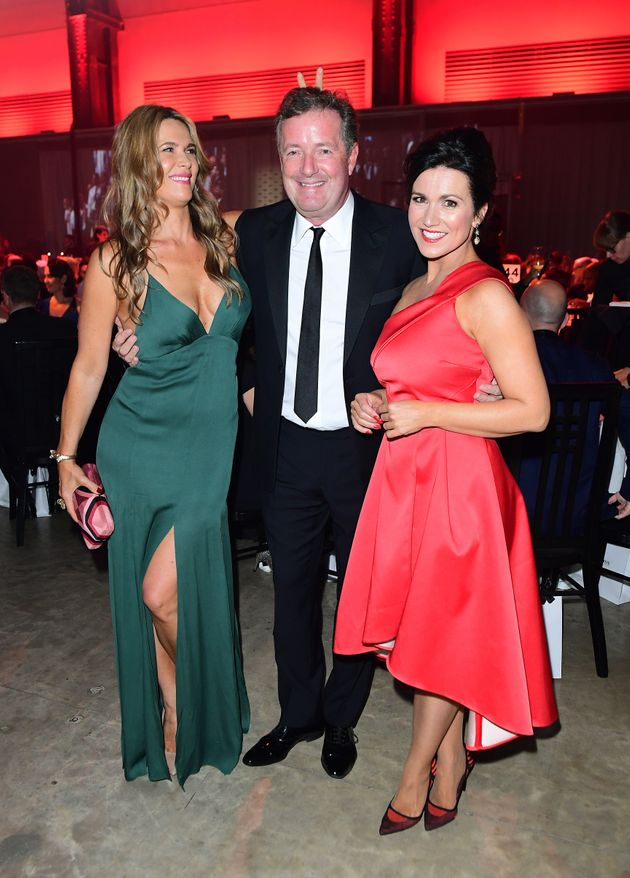 Piers Morgan's Wife Is NOT Impressed After He Joked He And Susanna Reid Would Be 'At It Like Stoats In A Sack' If They Were Single