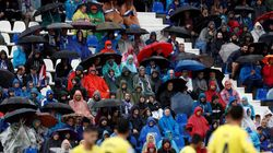 Las lluvias intensas se quedan este lunes en zonas montañosas del centro y