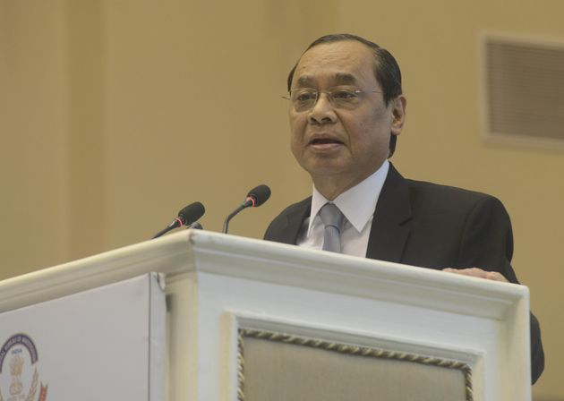 Chief Justice of India Ranjan Gogoi in a file