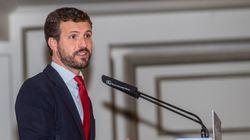 Casado descarta la coalición con el PSOE y da por seguras las