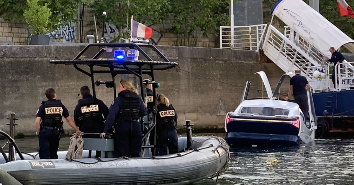 Les Seabubbles à peine testées sur la Seine, déjà contrôlées par la police