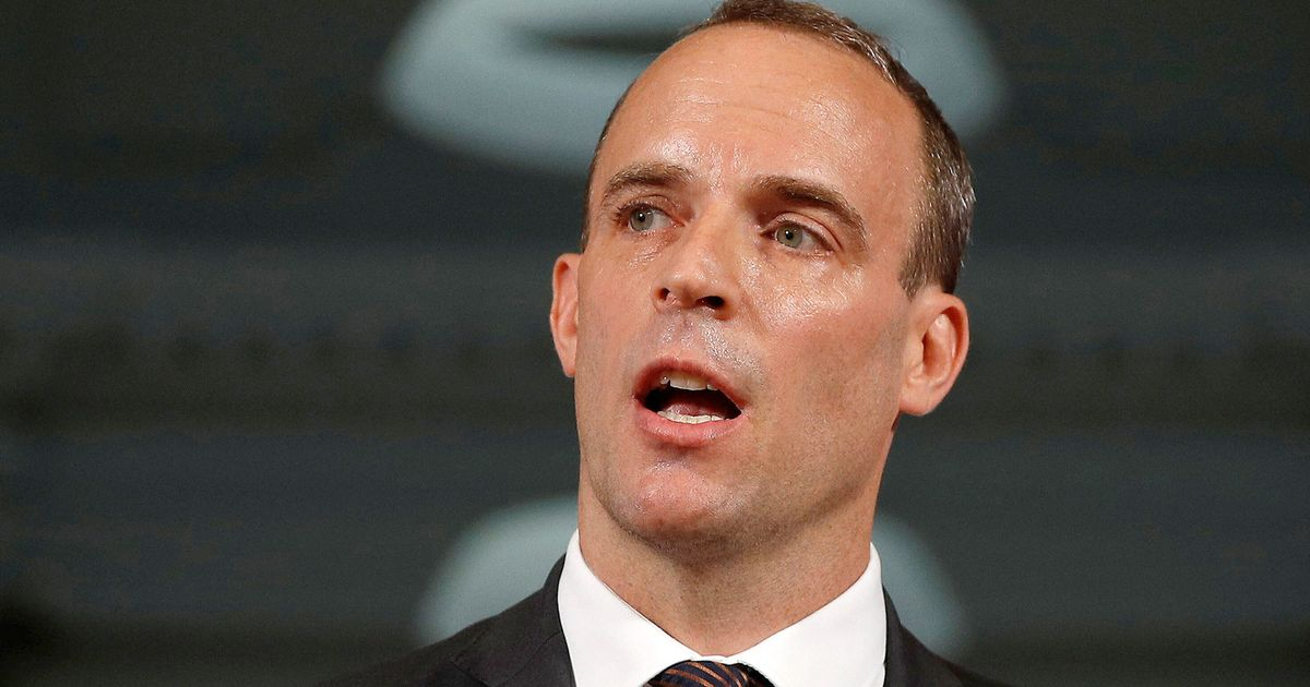 Dominic Raab Claims Law Designed To Stop No-Deal Brexit Is 'Deeply Flawed'