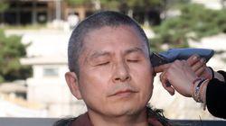황교안 자유한국당 대표가 예고했던 '삭발식'을