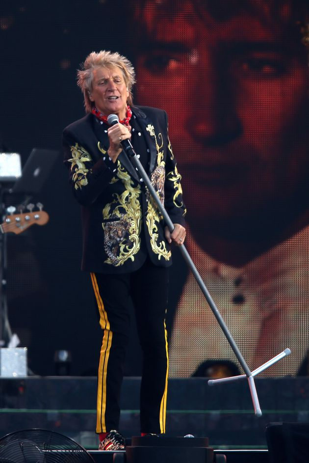 Sir Rod in concert earlier this