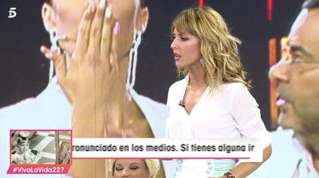 Emma García, el 14 de septiembre de 2019 en 'Viva la