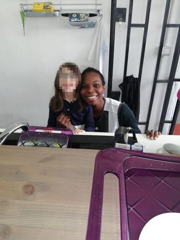 La ragazza di origini ghanesi che lavora nel