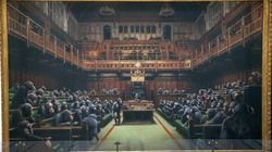 Banksy Work Depicting UK MPs As Chimpanzees To Be