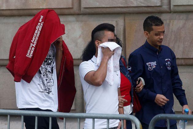 Tres de los siete acusados por la violación múltiple de una menor en Manresa (Barcelona) en octubre de