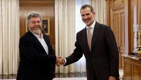 El rey recibe a los líderes políticos a una semana de convocar elecciones si no prospera una