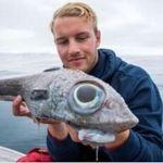Ενα ψάρι με μάτια «δεινοσαύρου» βρέθηκε στη