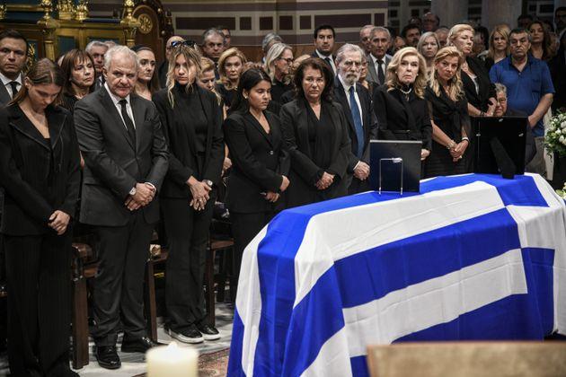 Η κηδεία του εκδότη και πολιτικού, Αντώνη