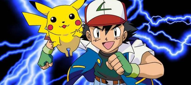 Grâce à l'aide de Pikachu, le dresseur du Bourg Palette a enfin remporté la Ligue de