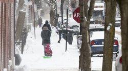 De la neige pourrait rapidement tomber en