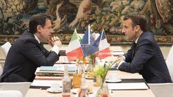 Italia-Francia: Macron da Conte, si prova a voltare