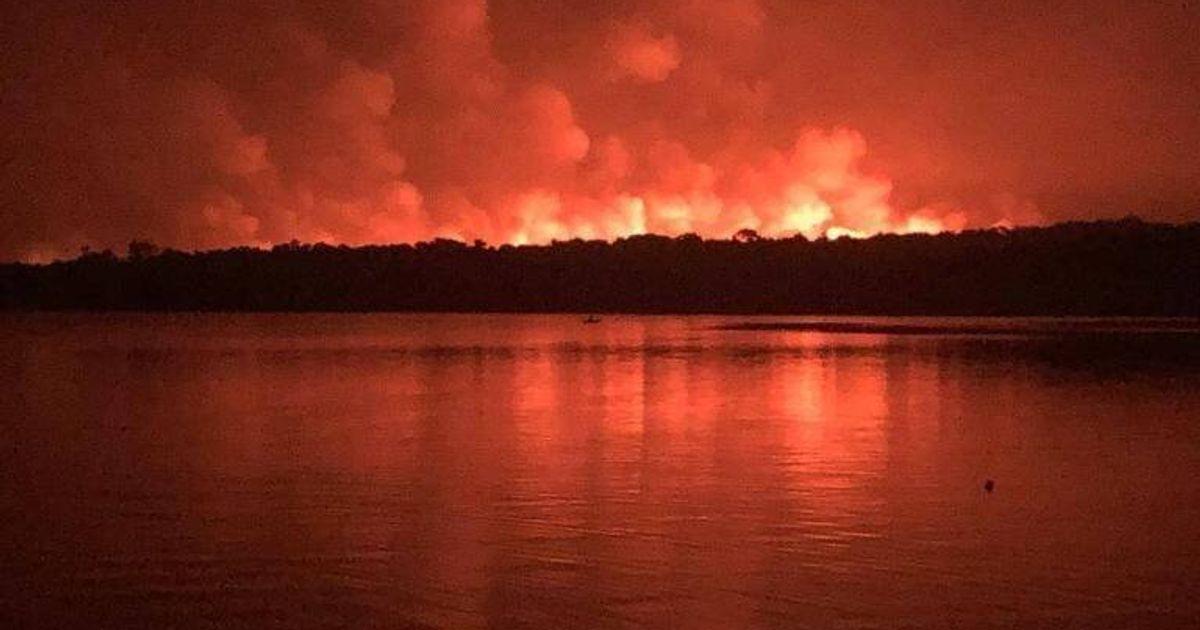 Polícia investiga se incêndio em Alter do Chão, no Pará, foi criminoso