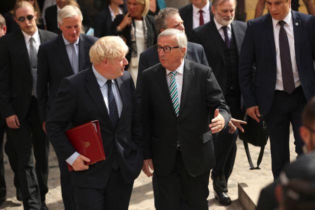 Johnson y Juncker, esta mañana en