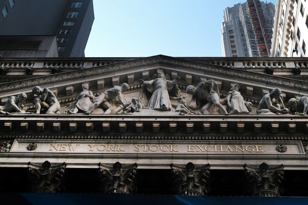 NEW YORK, NEW YORK - SEPTEMBER 03: The New York Stock Exchange (NYSE) stands in the Financial District...