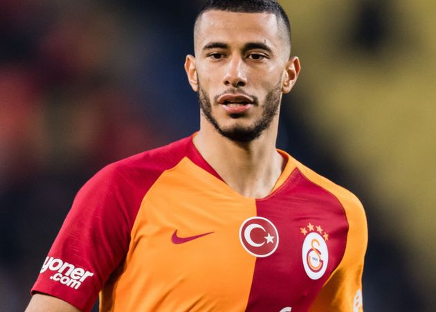 Younes Belhanda of Galatasaray SK during the Turkish Spor Toto Super Lig football match between Fenerbahce...