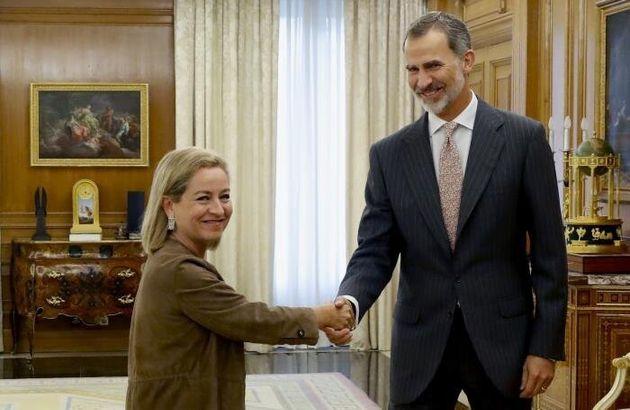 Oramas, con Felipe