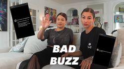 Enjoy Phoenix victime de harcèlement en ligne après une vidéo avec Gaëlle Garcia