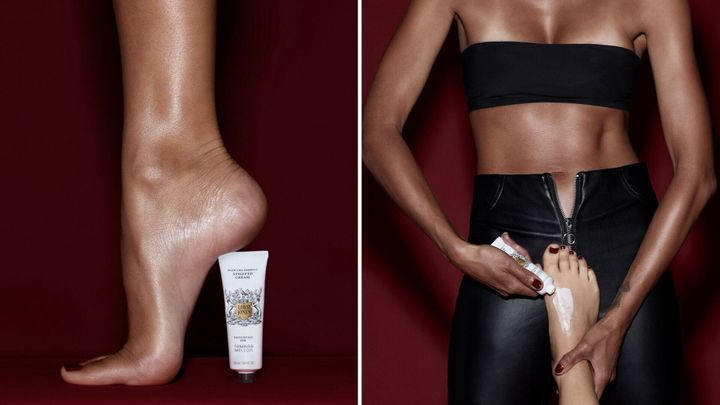 Lord Jones and Tamara Mellon collaborated on a CBD cream to make wearing high heels less painful.